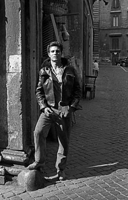 Gay Interest Photograph - Young Italian Man by George Daniell