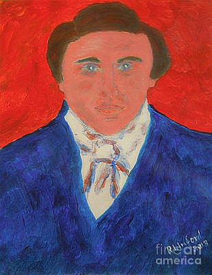 Jon Stewart Painting - Young Joseph Smith Junior 1 by Richard W Linford