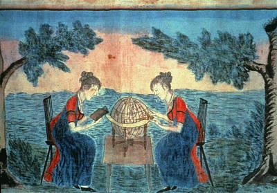 Seminary Painting - Young Ladies' Seminary by Granger