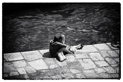 Photograph - Young Love In Porto by John Rizzuto