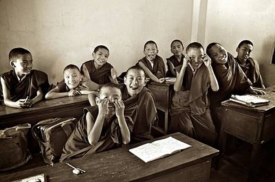Photograph - Young Monks by Valerie Rosen