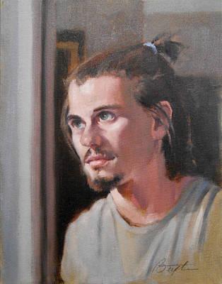 Young Nathan Original by Todd Baxter