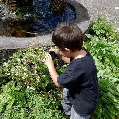 Photograph - Young Photographer by Pamela Walton