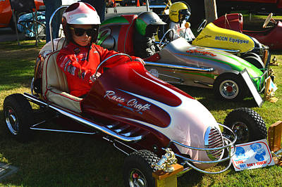 Young Racers Art Print by Bill Dutting