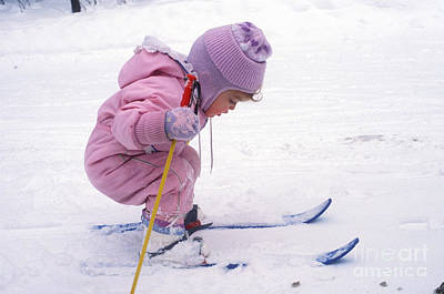 Photograph - Young Skier by Jim West