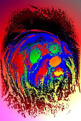 Young Troll Groving Up Wondering What's Going On  Art Print