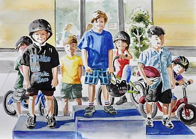 Young Winners Art Print