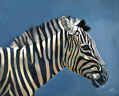 Painting - Young Zebra by Antonio Marchese