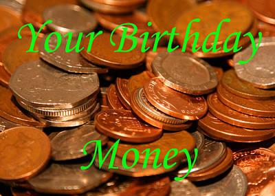 Martinspixs Photograph - Your Birthday Money Coin by Martin Matthews