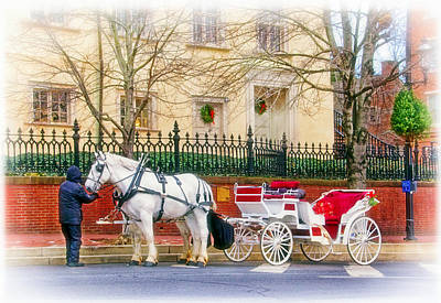 Photograph - Your Carriage Awaits by Carolyn Derstine