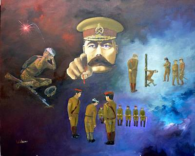 Www1 Painting - Your Country Needs You by Derek Walsom