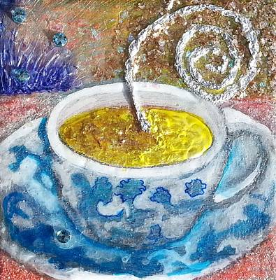 Painting - Your Cup Of Tea by Corey Habbas