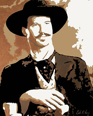 Painting - Your Huckleberry by Dale Loos Jr