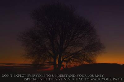 Photograph - Your Journey by Jean-Noel Nicolas