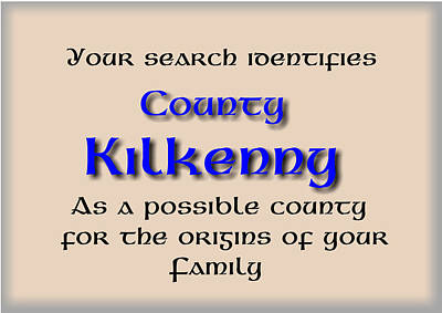 Joy Mixed Media - Kilkenny Ancestry by Val Byrne