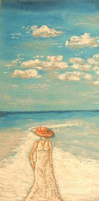 Painting - Your Kiss by The Beach  Dreamer