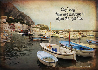 Your Ship Will Come In Art Print
