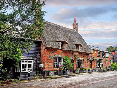 Old Inns Photograph - Your Shout - Axe And Compasses Pub by Gill Billington