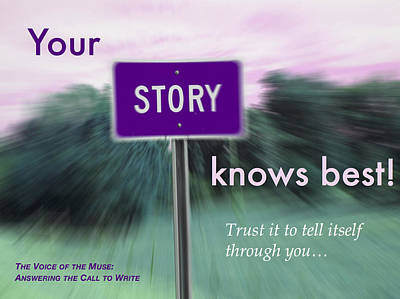 Digital Art - Your Story Knows Best by Mark David Gerson