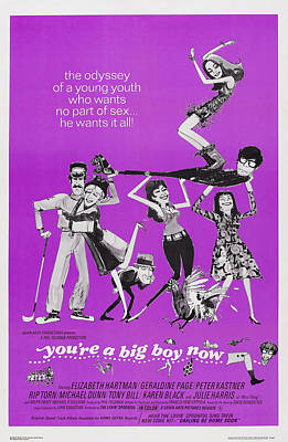Cult Film Photograph - Youre A Big Boy Now, Us Poster Art, 1966 by Everett