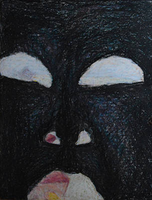 You're Standing In My Eye Art Print by Nancy Mauerman