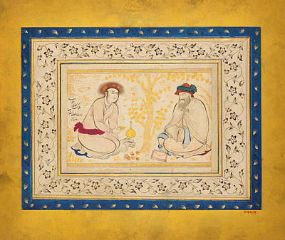 Kabah Painting - Youth And Dervish by Celestial Images