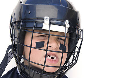 Youth Hockey Photograph - Youth Hockey Player by Joe Belanger