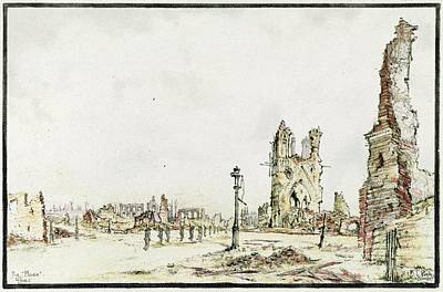 Ypres Art Print by Library Of Congress