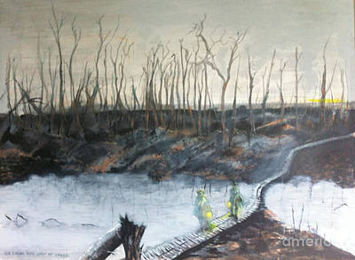 Painting - Ypres W W 1 by Michelle Deyna-Hayward