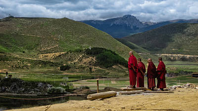 Tibetan Buddhism Photograph - Yuan For Your Thoughts by James Wheeler
