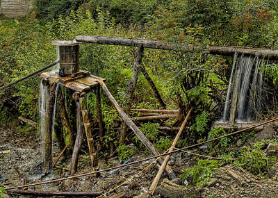 Base Path Photograph - Yubeng Water Works by James Wheeler