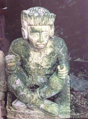 Painting - Yucatan Original Stonework. by Yucatan artist