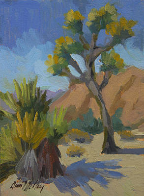 Painting - Yucca And Joshua by Diane McClary