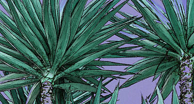 Photograph - Yucca Tops by Ben and Raisa Gertsberg