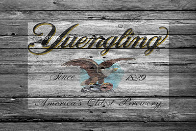 Handcrafted Photograph - Yuengling by Joe Hamilton