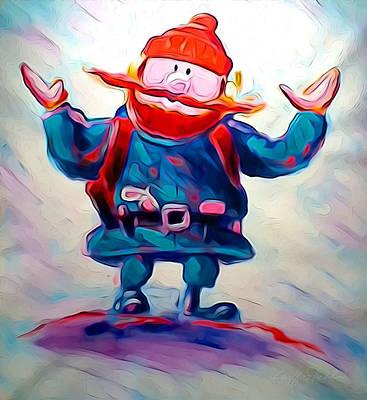 Digital Art - Yukon C by Geoff Strehlow