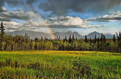 Photograph - Yukon Country  by Dyle   Warren