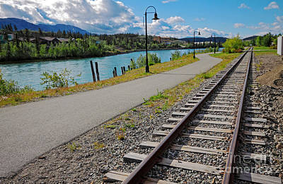Photograph - Yukon Railway by Charline Xia