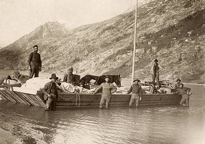 Yukon River Photograph - Yukon River, C1897 by Granger
