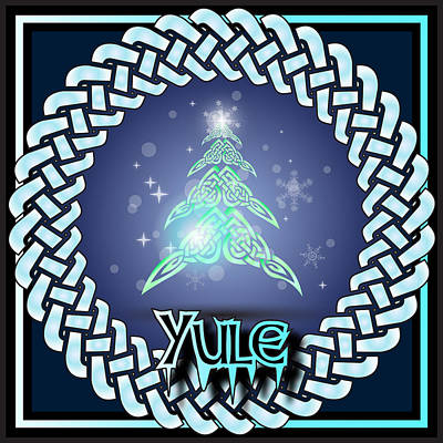 Digital Art - Yule Festival by Ireland Calling