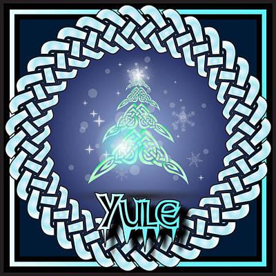 Digital Art - Yule Festival by Ireland Calling
