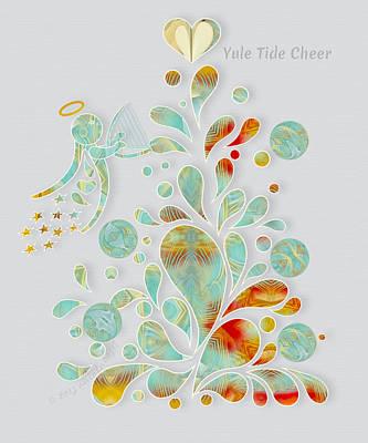 Digital Art - Yule Tide Cheer by Gayle Odsather