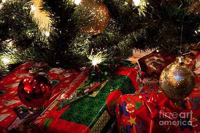 Photograph - Yuletide Gifts by Lawrence Burry