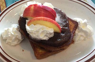 Photograph - Yum Apple Butter Stuff French Toast by Amazing Photographs AKA Christian Wilson