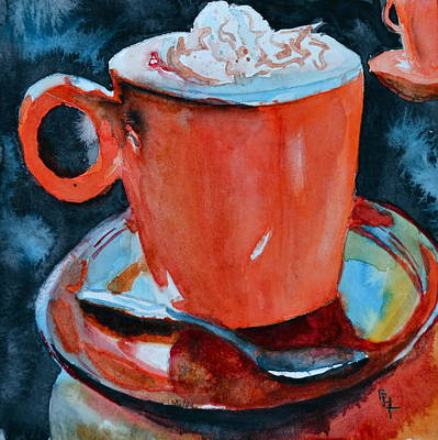 Yum Art Print by Beverley Harper Tinsley