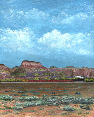 Painting - Yuma Bound by Gordon Beck