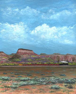 Painting - Yuma Bound by Gordon Beck