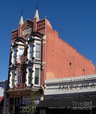 Yuma Building In San Diego Art Print by Gregory Dyer