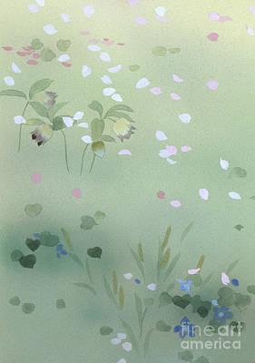 Parasols Digital Art - Yumezakura Crop by Haruyo Morita
