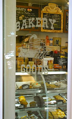 Photograph - Yummy Bakery Shop Peek by Michele Myers